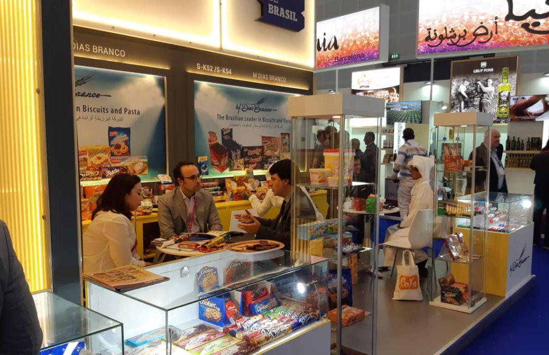 M. Dias Branco reforça atuação internacional na Gulfood, em Dubai
