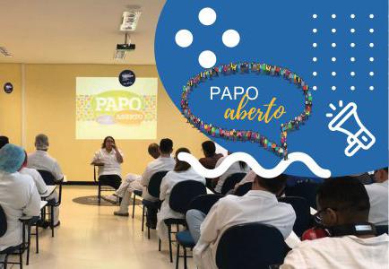 Papo Aberto. Programa de Comunicação facilita o diálogo entre líderes e equipes