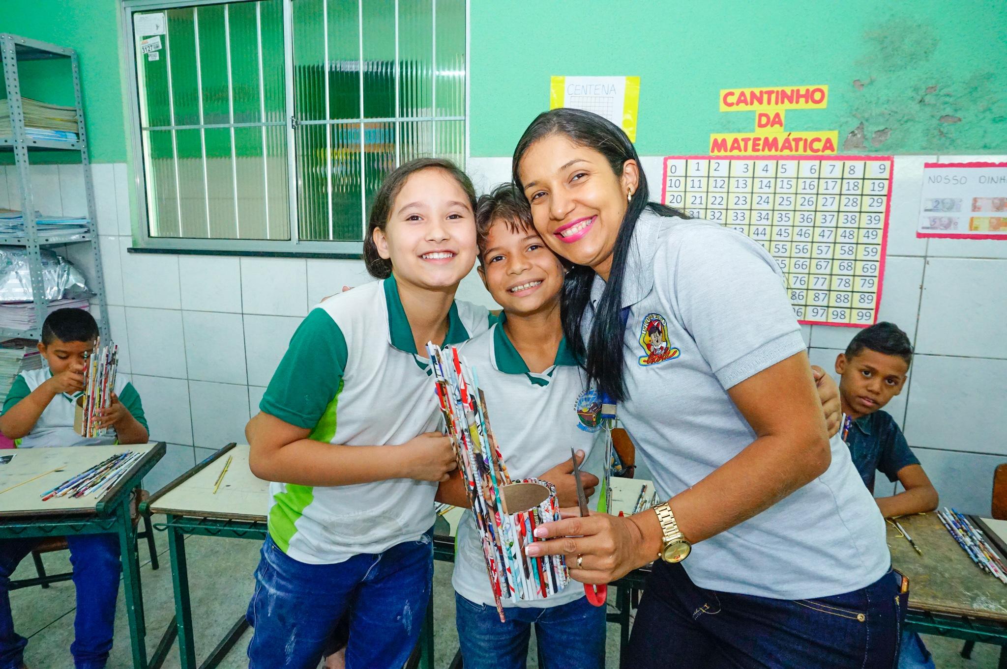 Projeto Escola realiza oficina em escola do entorno à Fábrica Fortaleza
