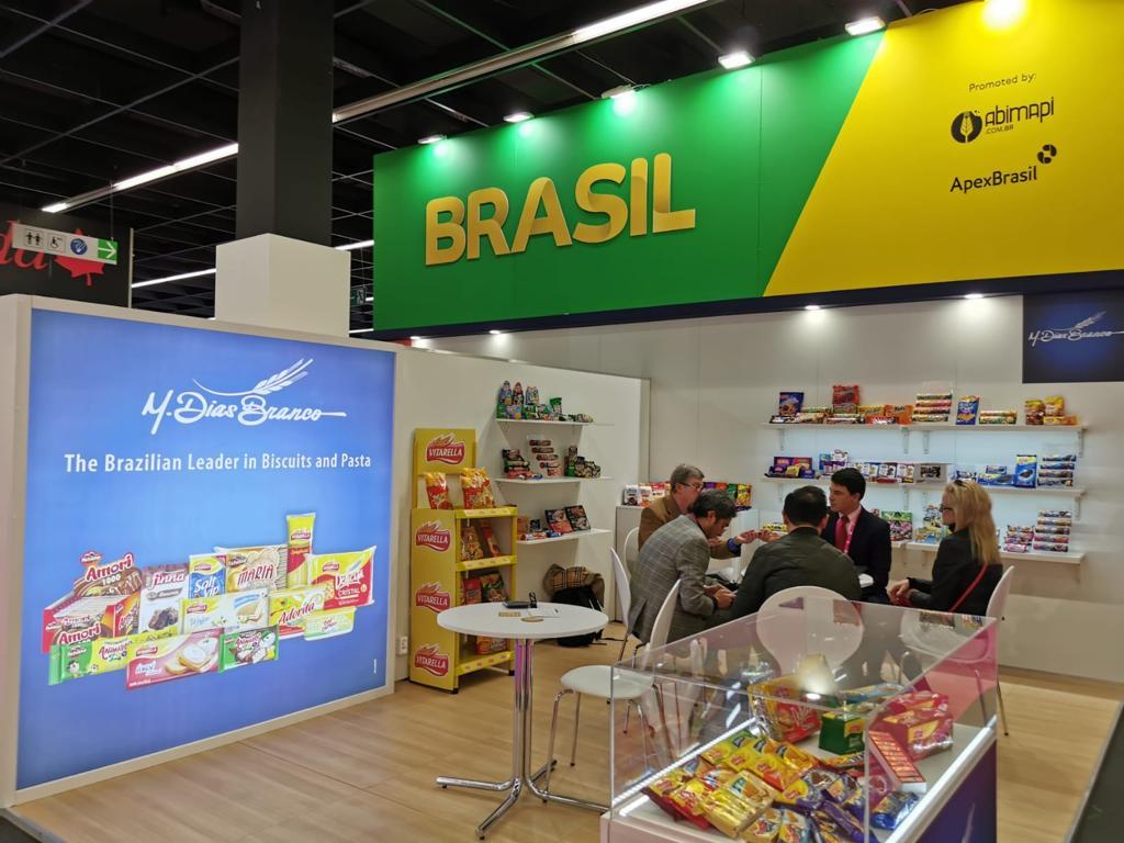Companhia reforça imagem e reputação internacional na maior feira global de alimentos