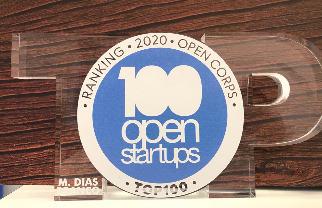 M. Dias Branco conquista prêmio '100 Open Startups'