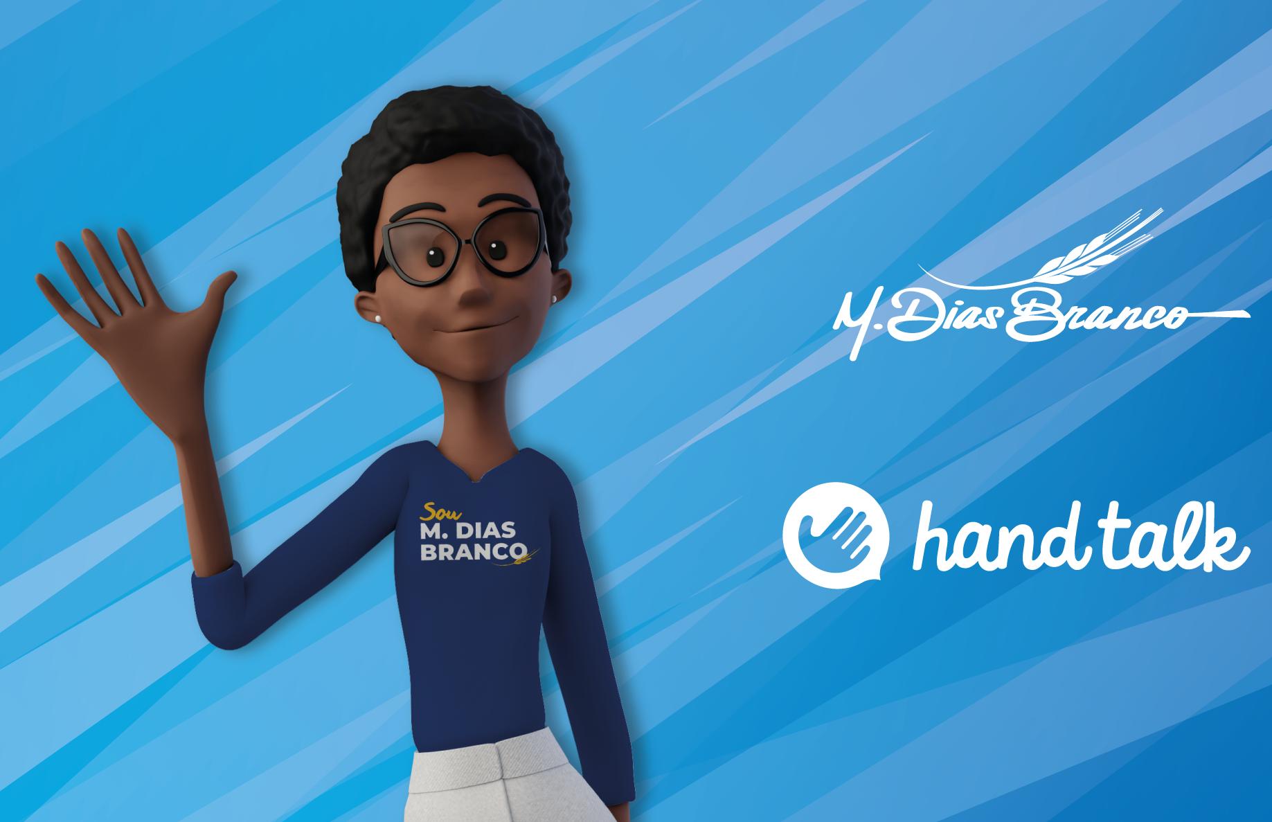 Diversidade: M. Dias Branco apresenta a Maya, nova tradutora virtual em Libras