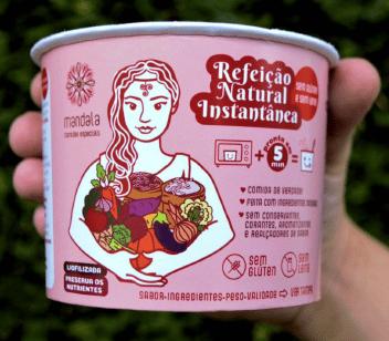 Aposta da M. Dias Branco, Mandala Comidas Especiais oferece alimentos saudáveis liofilizados
