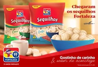 Chega ao mercado Sequilhos Fortaleza, com características artesanais e sabor caseiro