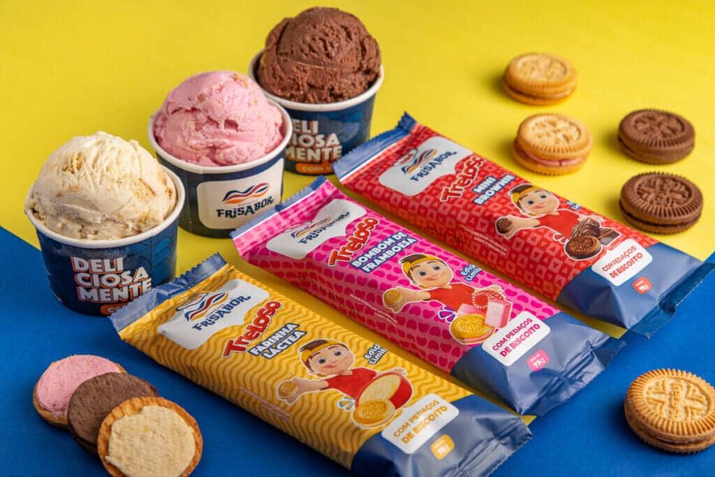 Treloso e FriSabor firmam parceria  e lançam sorvete de biscoito em edição limitada