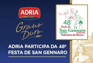 Adria participa da 48ª Festa de San Gennaro